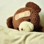 okrevanje prometna nesreča medvedek
