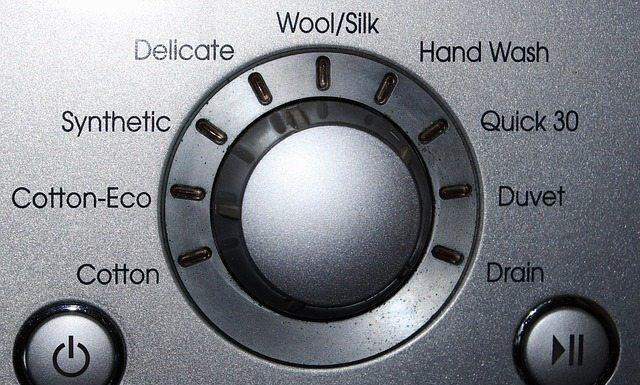 pralni stroji gumb