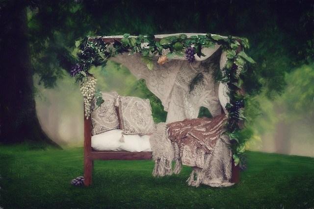 baldahini postelja