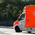 okrevanje prometna nesreča rešilec
